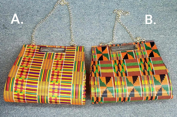 KENTE PRINT POCKET BOOK