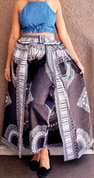 WOMAN CAPE PANT - DASHIKI PRINT