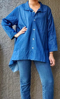 Women Denim Blouse -18-858X
