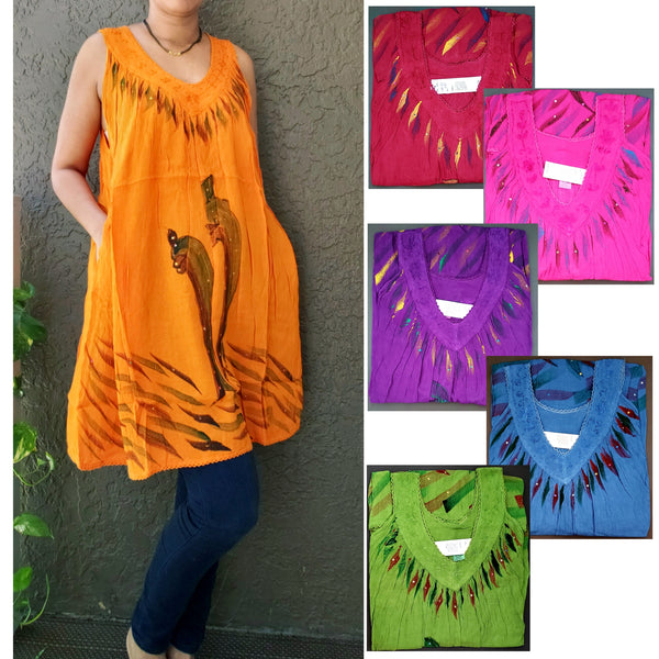 Women Day Dress/ Top - Dolphin Art