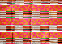 Head Scarf / Shawl - Traditional Kente Print