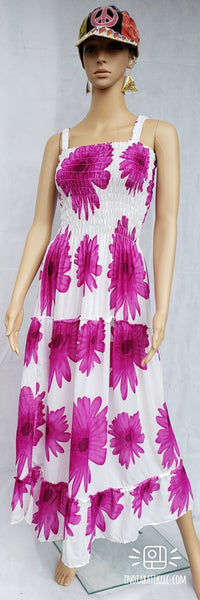 HAWAIIAN FLORAL DRESS