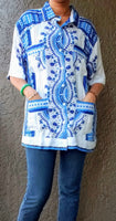 Short Sleeve Dashiki Shirt-AA-363