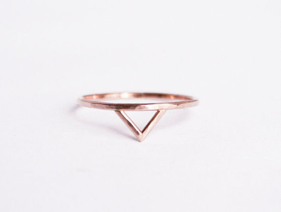 Spike Rose Gold Ring
