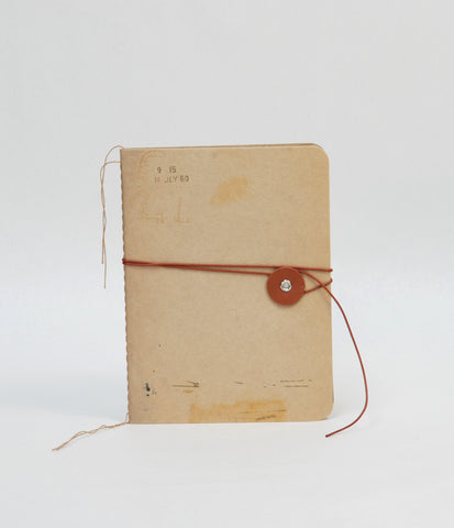 String Notebook - Beige