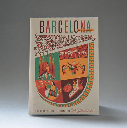 Barcelona at ease - Guided Travel Map