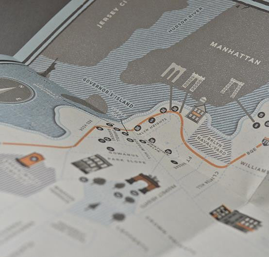 Brooklyn: 41 Reasons Why - Guided Travel Map
