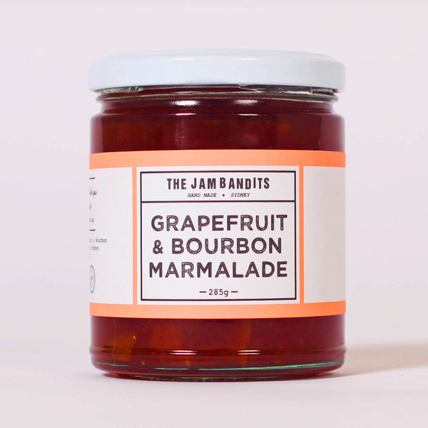 The Jam Bandits Grapefruit and Bourbon Marmalade