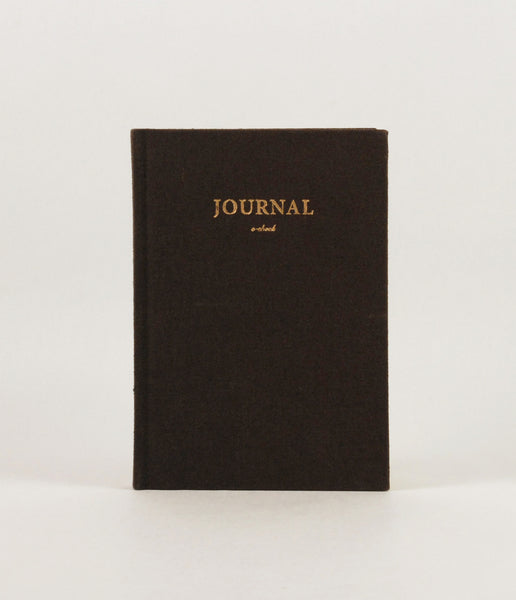 Brown Hard Cover Journal