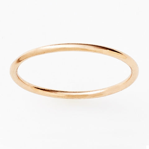 Pinkloulou Fine Ring in Rose Gold Plate