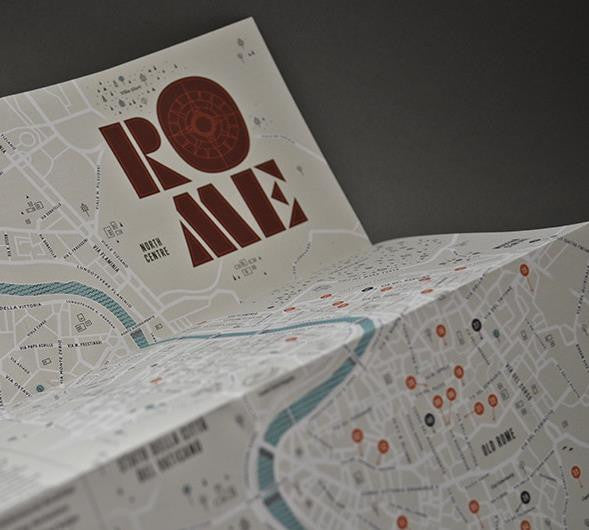 Rome: Moods and Places - Guided Travel Map