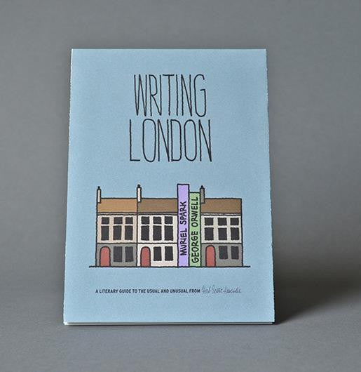 Writing London - Guided Travel Map