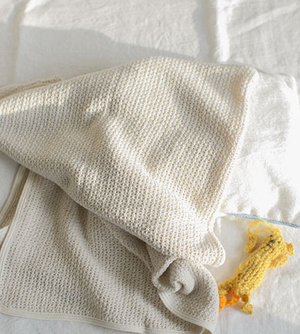 Fog Linen Cotton Baby Blanket