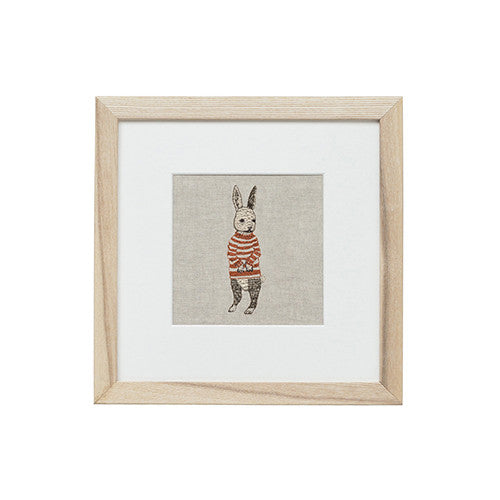 Coral & Tusk Bunny in Sweater Embroidered Artwork