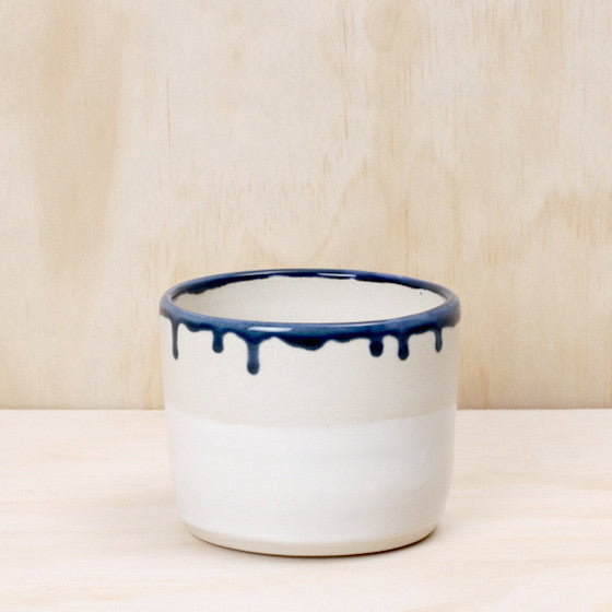 Weak End Club Blue Drip Pot