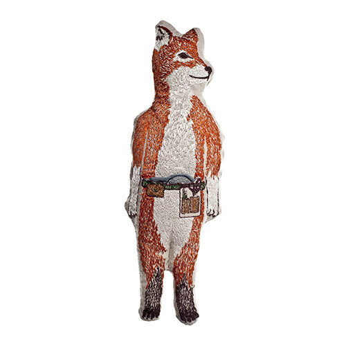 Coral & Tusk Fox Embroidered Toy