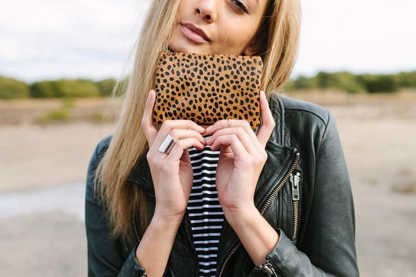 Status Anxiety Maud Wallet - Cheetah