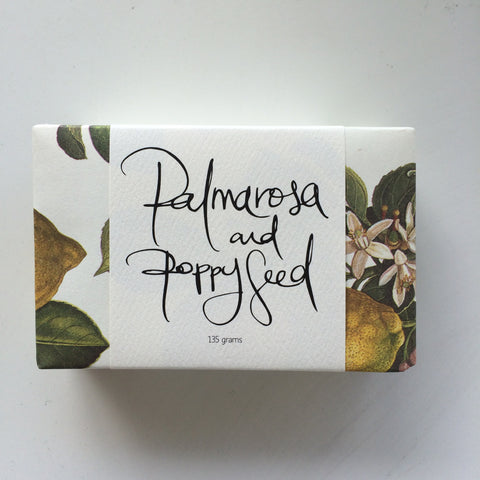 Maple Soaps Palmarosa and Poppy Seed Soap Bar