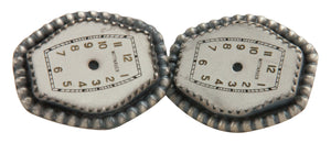 Navajo Native American Wittnauer Watch Face Cuff Links by Willeto SKU222765