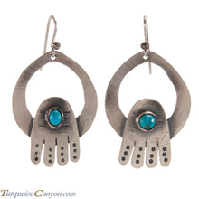 Load image into Gallery viewer, Navajo Native American Turquoise Earrings by Betty Ann Lee SKU224342
