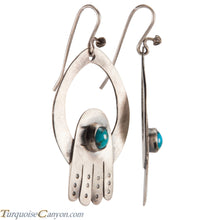 Load image into Gallery viewer, Navajo Native American Turquoise Earrings by Betty Ann Lee SKU224343