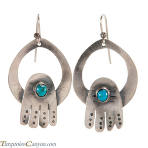 Navajo Native American Turquoise Earrings by Betty Ann Lee SKU224343