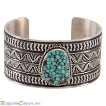 Load image into Gallery viewer, Navajo Native American Turquoise Cuff Bracelet by Sunshine Reeves SKU224475