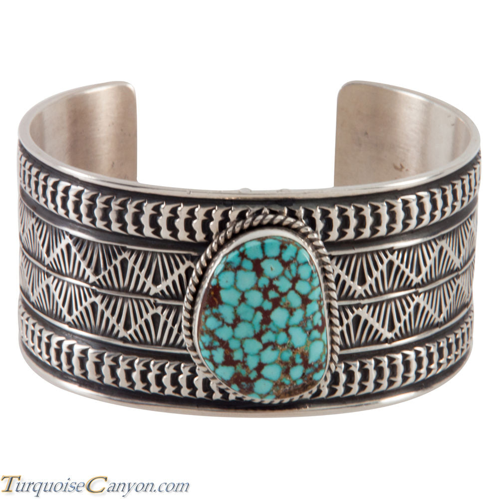 Navajo Native American Turquoise Cuff Bracelet by Sunshine Reeves SKU224475