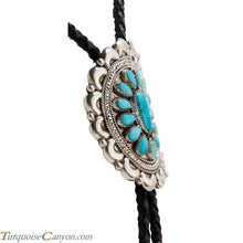 Load image into Gallery viewer, Navajo Native American Turquoise Bolo Tie by Juliana Williams SKU224534