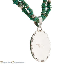 Load image into Gallery viewer, Navajo Native American Royston Turquoise Pendant and Necklace SKU224583