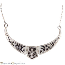 Load image into Gallery viewer, Hopi Native American Eagle Dancer Necklace by Daren Silas SKU224881