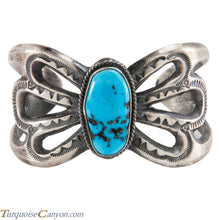 Load image into Gallery viewer, Navajo Native American Turquoise Bracelet by Eugene Mitchell SKU224957