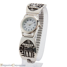 Load image into Gallery viewer, Hopi Native American Mudhead Watch Tips by Ben Mansfield SKU225000