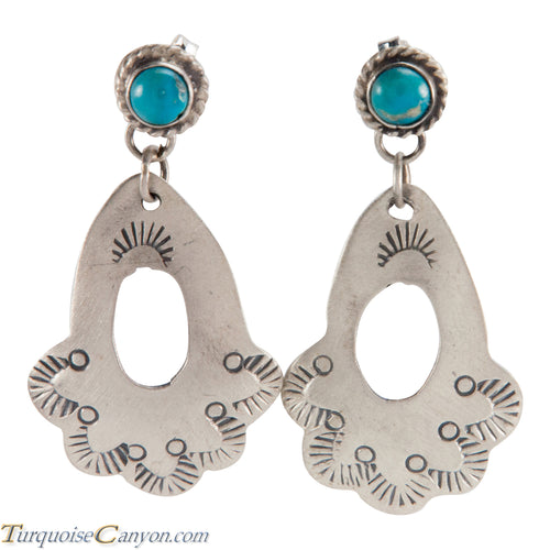 Navajo Native American Turquoise Earrings by Betty Ann Lee SKU225142