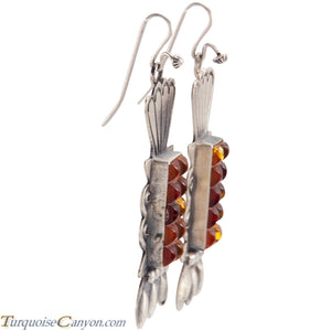 Navajo Native American Baltic Amber Earrings by Betty Ann Lee SKU225197