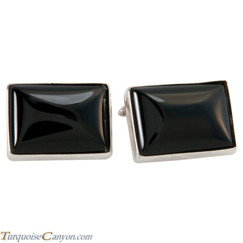 Navajo Native American Onyx Cuff Links SKU225263