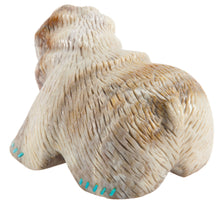 Load image into Gallery viewer, Zuni Native American Bear Fetish by Bryan Lastyone SKU225421