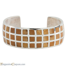 Load image into Gallery viewer, Navajo Native American Jasper Inlay Bracelet by Charles Johnson SKU225505