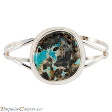 Load image into Gallery viewer, Navajo Native American Montezuma Turquoise Mine Bracelet SKU225783