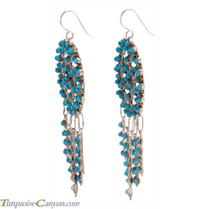 Zuni Native American Sleeping Beauty Mine Turquoise Earrings SKU225845