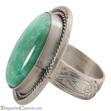 Load image into Gallery viewer, Navajo Native American Stenich Mine Turquoise Ring Size 8 3/4 SKU226036