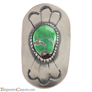 Navajo Native American Carico Lake Turquoise Ring Size 9 SKU226136