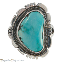 Load image into Gallery viewer, Navajo Native American Blue Gem Mine Turquoise Ring Size 6 SKU226139