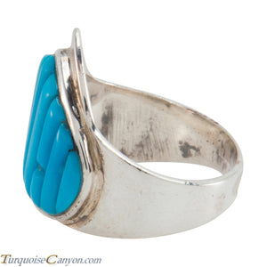 Navajo Native American Sleeping Beauty Turquoise Ring Size 8 1/2 SKU226200