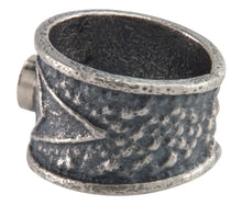 Load image into Gallery viewer, Navajo Native American Coral Tufa Cast Ring Size 7 1/2 by M Claw SKU226211