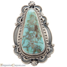 Load image into Gallery viewer, Navajo Native American Turquoise Ring Size 9 1/4 by Emma Linkin SKU226585