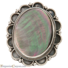 Load image into Gallery viewer, Navajo Native American Abalone Shell Ring Size 7 3/4 by Richard Jim SKU226589