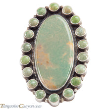 Load image into Gallery viewer, Navajo Native American Royston Turquoise Ring Size 8 1/4 by Brown SKU226620