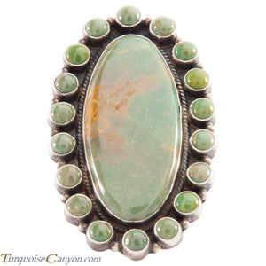 Navajo Native American Royston Turquoise Ring Size 8 by Dean Brown SKU226621