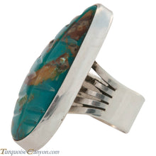 Load image into Gallery viewer, Navajo Native American Royston Turquoise Ring Size 8 by Juan Guerro SKU226633